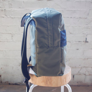 The Commuter Backpack - Moss & Black