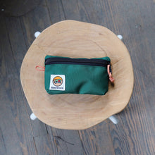 Small Zipper Pouch - Foliage Green