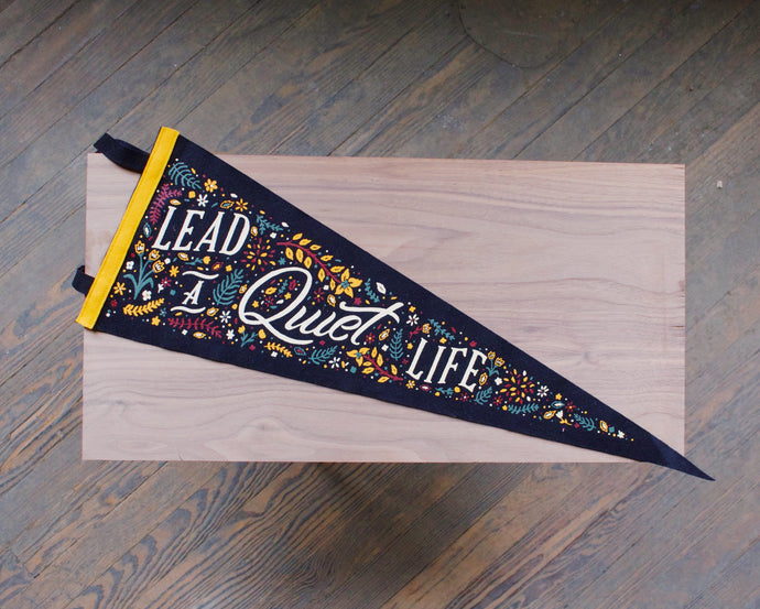 Lead a Quiet Life - Pennant