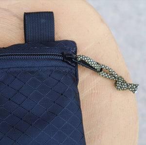 Large Zipper Pouch - Black Diamond
