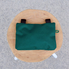 Large Zipper Pouch - Foliage Green