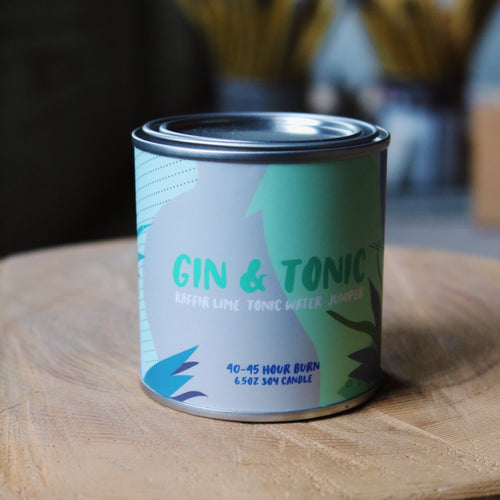 Gin & Tonic - Candle