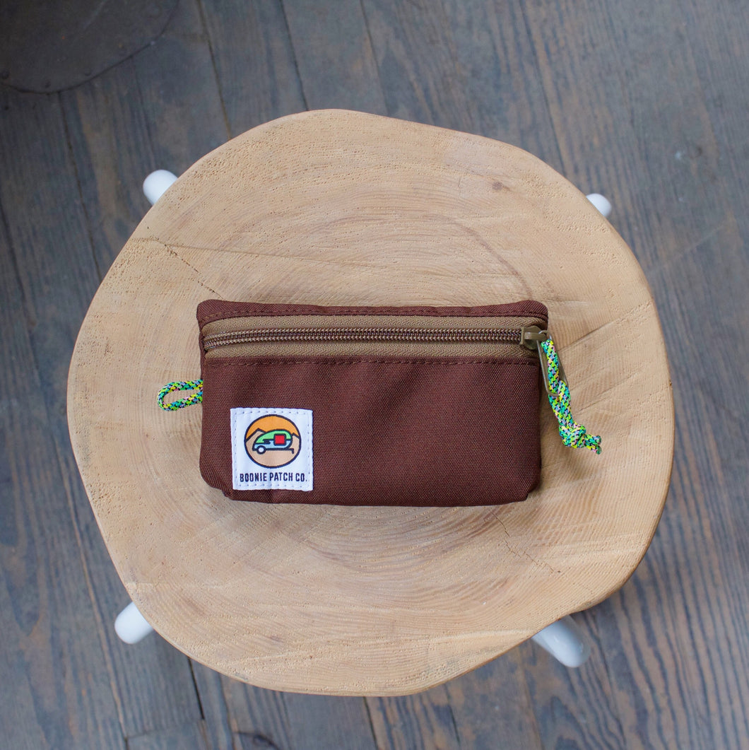 Small Zipper Pouch - Earth
