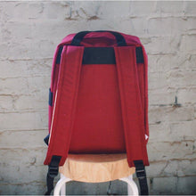 *Pre-Order Now!* The Commuter Pack- Maroon & Cyan