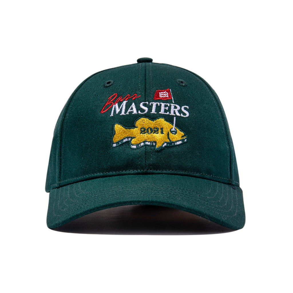 Bass Masters Backstrap Hat (Green)
