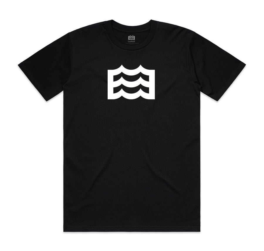 Heritage Tee (Black/White)