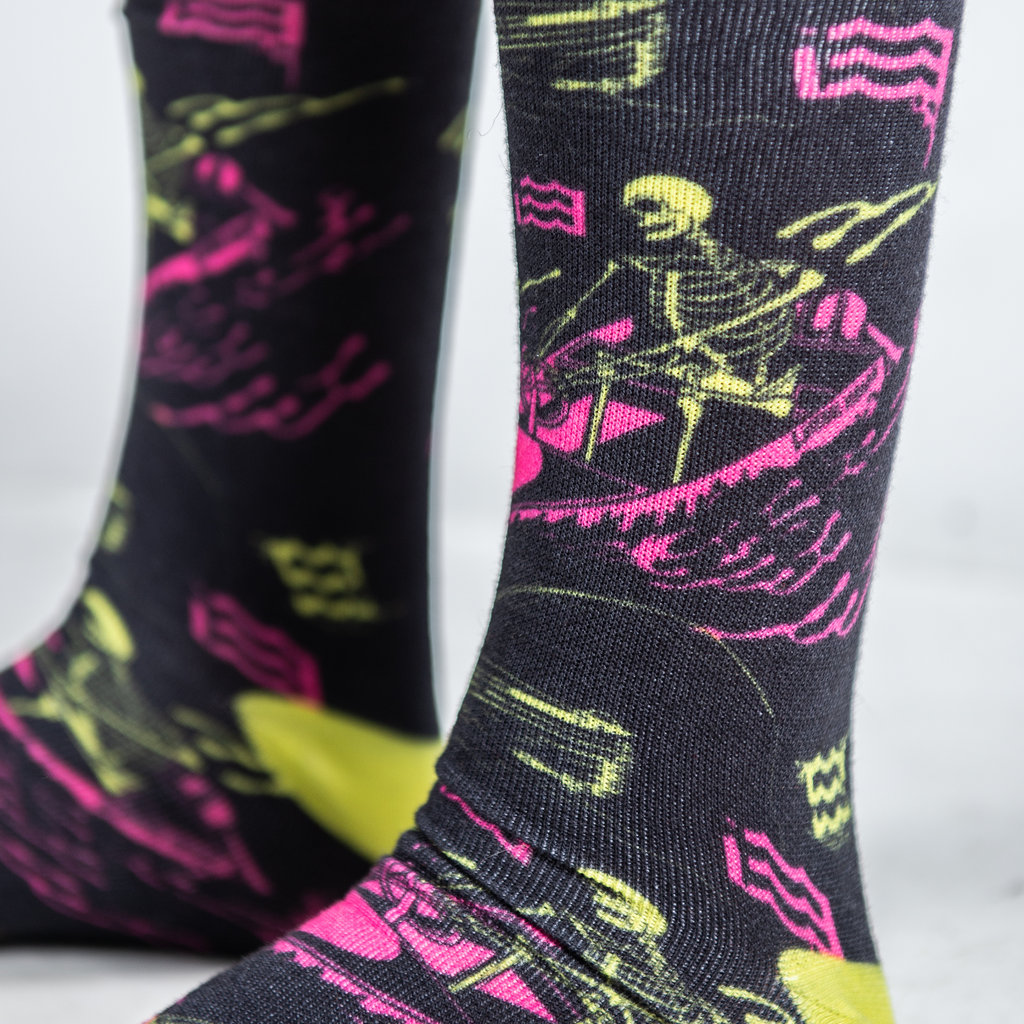 Bad To The Bone Socks
