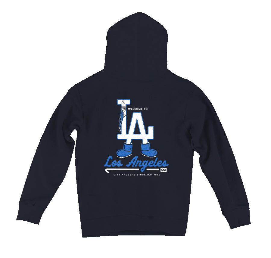 Welcome To LA Hoodie (Navy)
