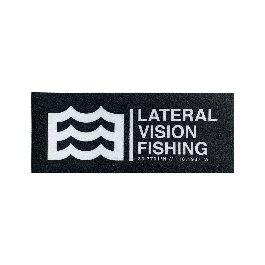"13"" Lateral Vision Fishing Carpet Decal"