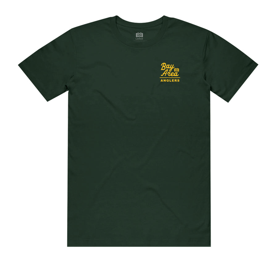 WELCOME TO OAKLAND TEE (FOREST GREEN)