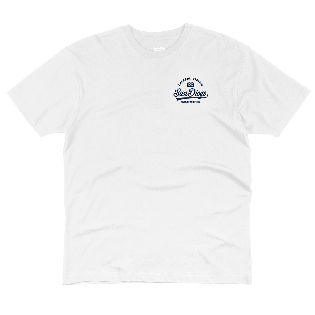 Welcome To SD Tee (White)