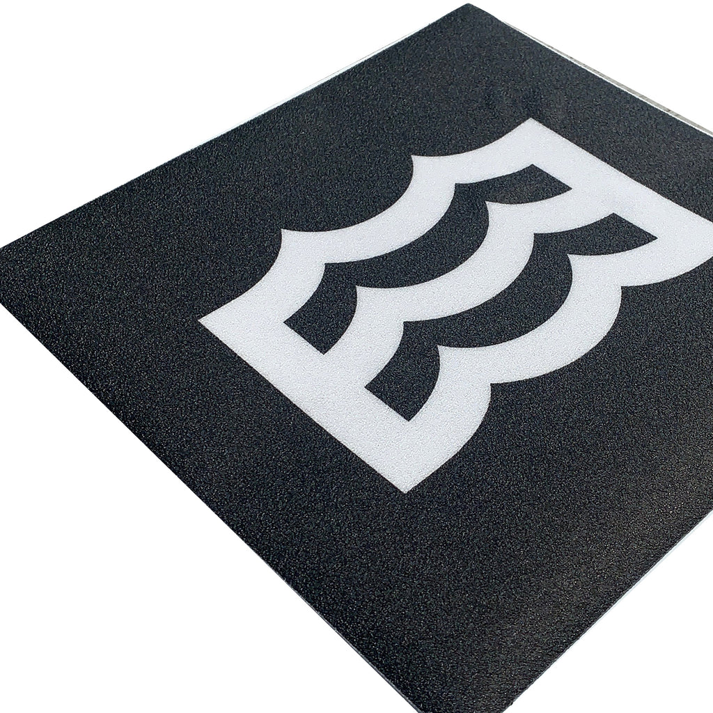"10"" Wave Logo Carpet Decal"