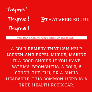 Are YOU making thyme for wellness?