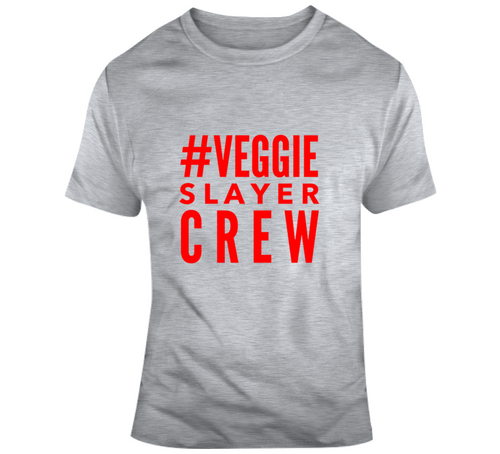 Veggie Slayer Crew Swag Collection (Gray & Red)
