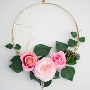 Handmade Floral Wall Decoration