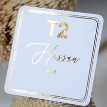 Personalised T2 Tea Tag 6.2 cm x 6.2 cm (T2 tea)