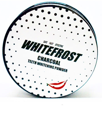 Whitefrost Coconut 100% Natural Activated Charcoal Teeth Whitening Powder