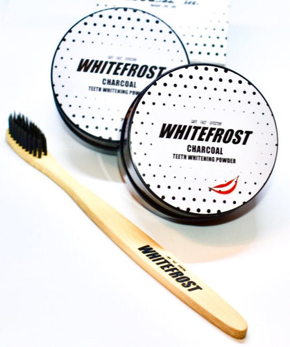 Whitefrost Double Pack + Bamboo Toothbrush