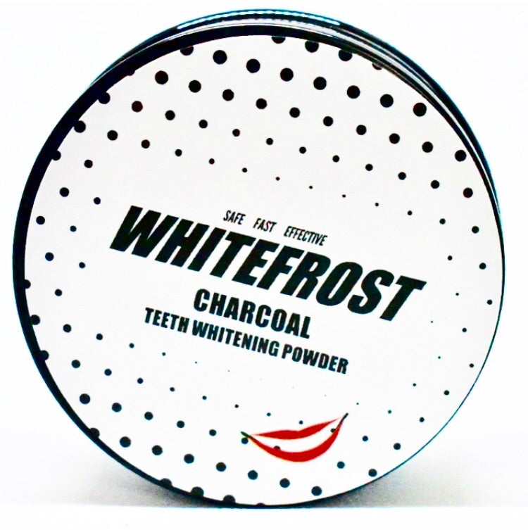 Whitefrost Coconut 100% Natural Teeth Whitening Charcoal Powder