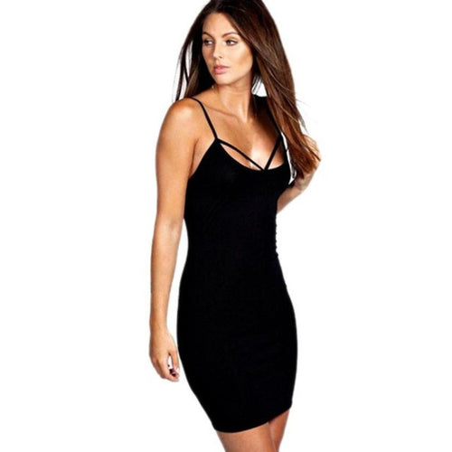 Bandage Bodycon Cocktail  Dress