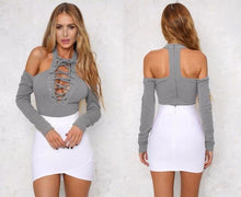 Shoulderless Sweater Bodysuit