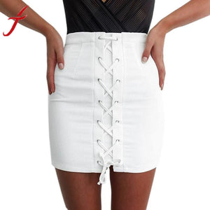 Mini High Waist Skirt Pure