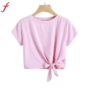 Fashion Candy Colored T shirt