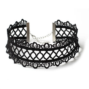 Lace Choker Collar Necklace