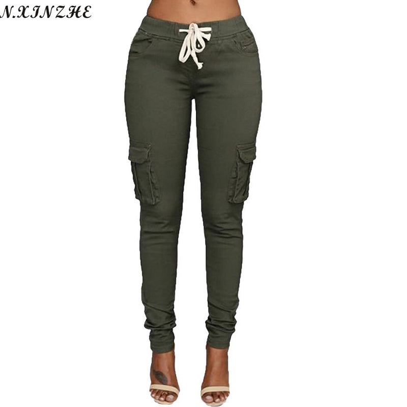 N.XINZHE High Elastic Pants 4 Colors Any Size
