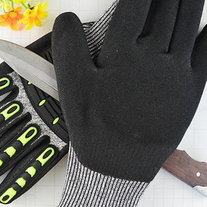 LEVEL 5 PROTECTION CUT-RESISTANT GLOVES