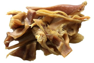 Pigs Ears Stripes 80g Dog Treats
