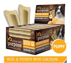 Rice & Potato with Calcium Puppy Dental Stick