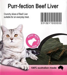 Purr-fection Beef Liver 100g
