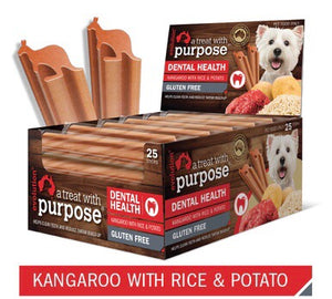 Kangaroo with Rice & Potato Dental Stick