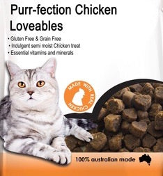 Purr-fection Chicken Loveables Cat Treats 80g