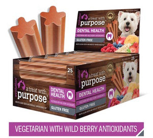 Vegetarian with Wild Berry Antioxidants Dental Stick for Dogs