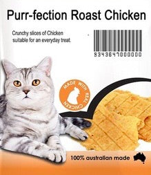 Purr-fection Roast Chicken Cat Treats 40g