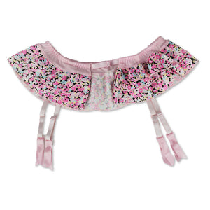 Cute Vintage Layered Bow Decorated Garter Belt