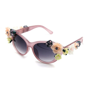 Retro Flower Sunglasses