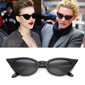 Brand Designer Vintage Cat Eye Sunglasses