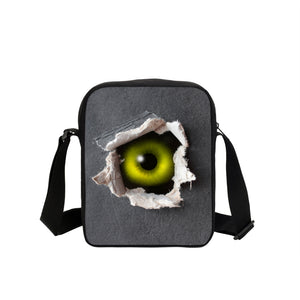 Crossbody Messenger Bags Punk Skull