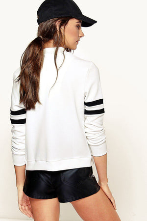 Baseball Jacket in Mandarin Collar