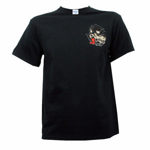 Lone Wolf Rockabilly Men T-shirt