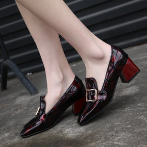 Vintage Patent Leather Pumps
