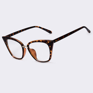 Oval Cat Eye Gradient Sun Glasses