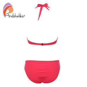Halter Bikini Set Vintage Retro Bathing Suit