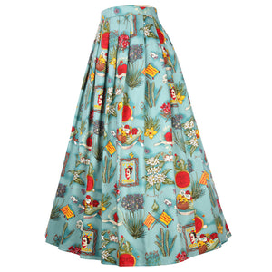 A-Line Long Maxi Skirts