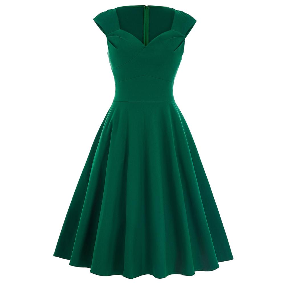 Audrey would've been proud - Knee Length A-Line Formal Party Gown
