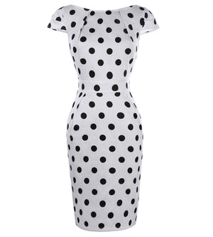 Sexy Bodycon Rockabilly Pencil Dress