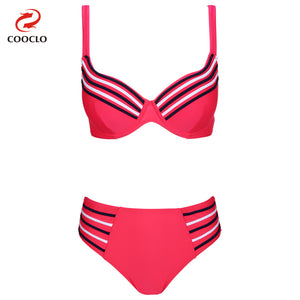 Plus Size Bikini Push up Explosion Swimwear